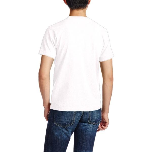 Eagle in Flowing Custom Men's Crew-Neckone T-shirt Navy White