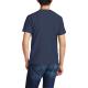 American Pride Custom Men's Crew-Neckone T-shirt Navy Blue