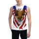 American Pride Custom Men's Sleeveless T-shirt