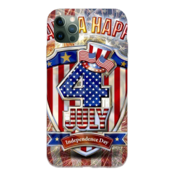 National Day holiday Custom Liquid Silicone Phone Case For Iphone 12 Pro