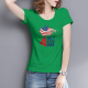 Happy Independence Day Custom Women's T-shirt
