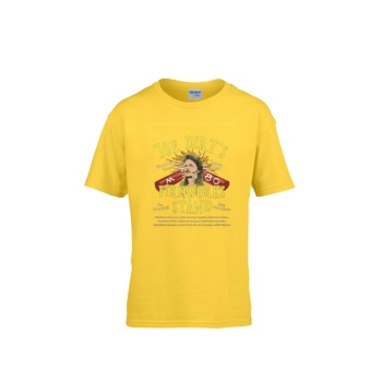 JOE DIRT'S FIREWORKS STAND Gildan Children's Round Neck T-shirt Yellow