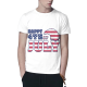 Happy 4th of July Custom All Surface  Men's T-shirt