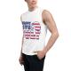Happy 4th of July Custom Men's Sleeveless T-shirt