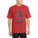 INDEPENDENCE 1776 Custom Men's Crew-Neckone T-shirt Red