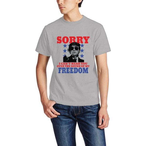 President Donald Trump Custom Men's Crew-Neckone T-shirt
