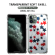 Star garland Custom Transparent Phone Case for iPhone 11 Pro
