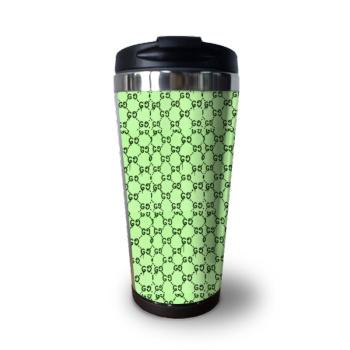 Green Gucci Custom Coffee Cup