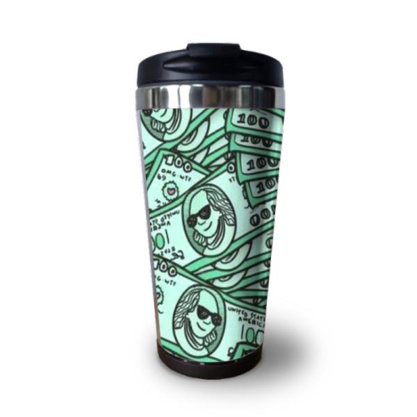 Money Custom Coffee Cup