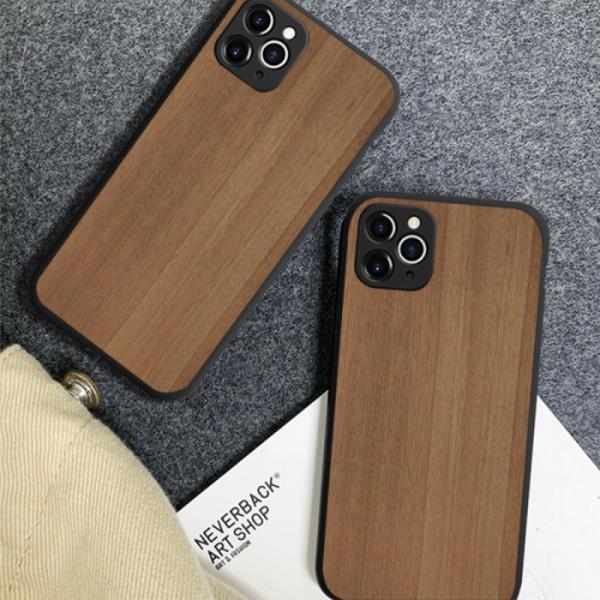 Light Cocobolo Custom Liquid Silicone Phone Case for iPhone 11 Pro Max