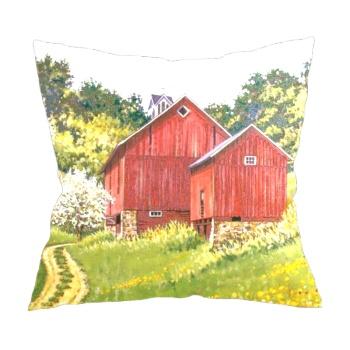 Spring Pastoral Custom Pillowcase