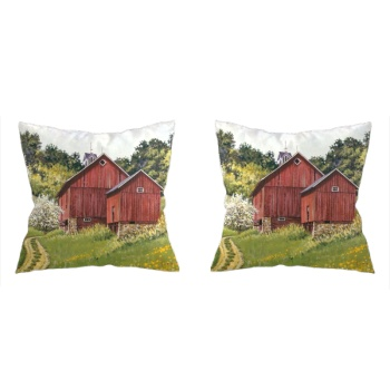 Spring Pastoral Custom Pillowcase (Front and Back)
