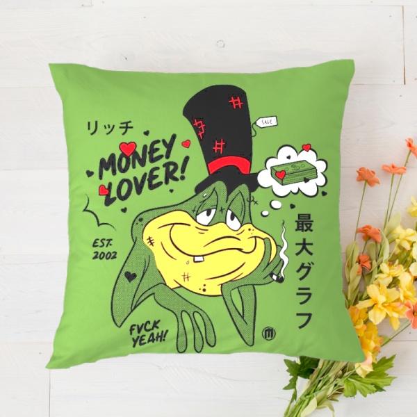 Money Lover Custom Pillowcase (Front and Back)