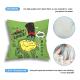 Money Lover Custom Flax Pillowcase