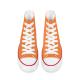 Tomato Cream Men's High Top Canvas Shoes
