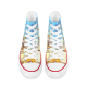 Artist Retro National Gallery Canvas Shoes High Top Canvas Sneakers