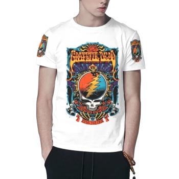 Grateful Dead Custom All Surface  Men's T-shirt