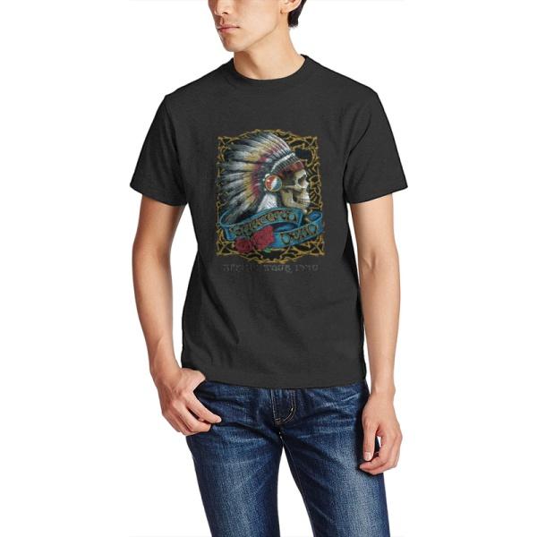Captain Skeleton 2 Custom Men's Crew-Neckone T-shirt Black