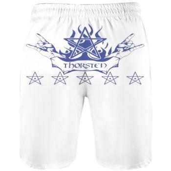 southern attitude Custom Men's Beach Pants