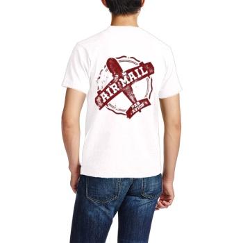 southern attitude shirts Custom Men's Crew-Neckone T-shirt Navy White