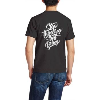 southern attitude shirts Custom Men's Crew-Neckone T-shirt Black