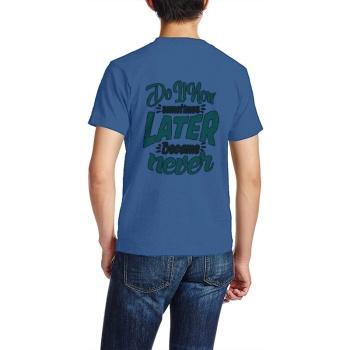 southern attitude shirts The Wall Of Winnipeg T-shirt Navy Sapphir Blue