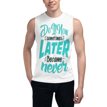 The Wall Of Winnipeg southern attitude shirts Custom Men's Sleeveless T-shirt