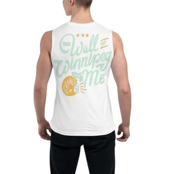 southern attitude shirts The Wall Of Winnipeg Men's Sleeveless T-shirt