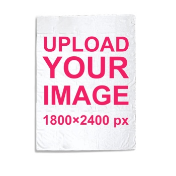 Custom Baby Blanket (Vertical)