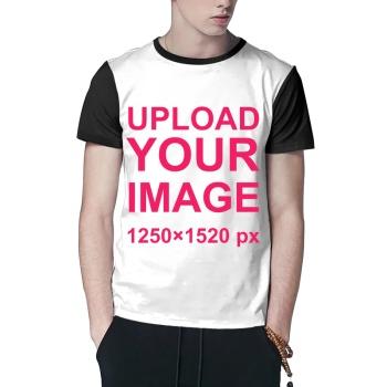 Custom Men's Crew-Neckone T-shirt