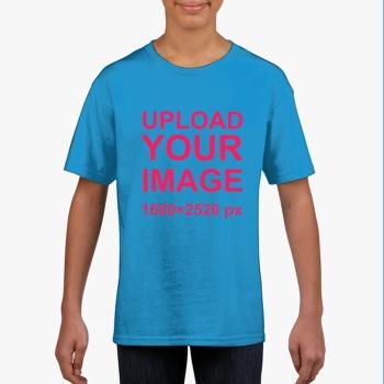 Gildan Children's Round Neck T-shirt Sapphire Blue