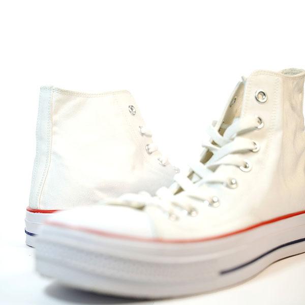 Classics White Men's High Top Canvas Shoes