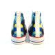 The Star Night Artist Retro Custom High Top Canvas Shoes