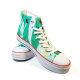 Artist Retro Femmes Et Oiseaux  High Top Canvas Shoes