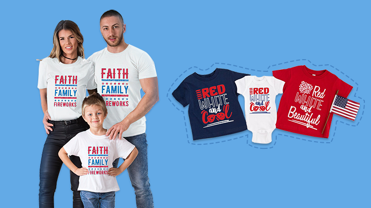 4th Of July Family Shirts