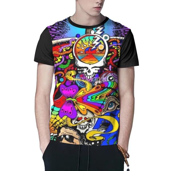 Grateful Dead Custom Men's T-shirt