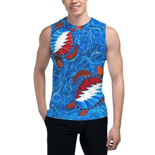 Terrapin Station Custom Men's Sleeveless T-shirt