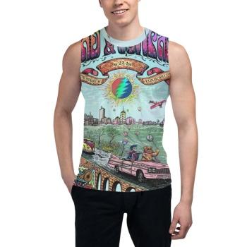 Grateful Dead Custom Men's Sleeveless T-shirt