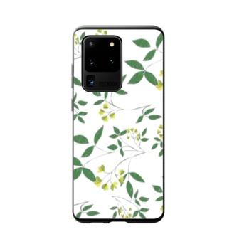 Woodcut Tea Custom Phone Case For Samsung Galaxy S20 Ultra