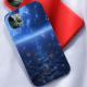 burga phone cases Mirror of stars Custom Liquid Silicone Phone Case for iPhone 12 Pro