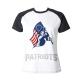 Patriots Custom Women's Crew Neckone T-shirt