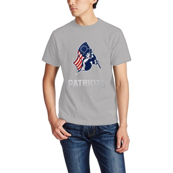 Patriots Custom Men's Crew-Neckone T-shirt