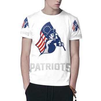 Patriots Custom All Surface  Men's T-shirt