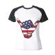 USA Shaka Custom Women's Crew Neckone T-shirt