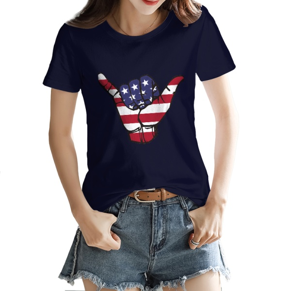 USA Shaka Custom Women's T-shirt