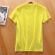 Abraham Lincoln Custom Women's T-shirt Yellow