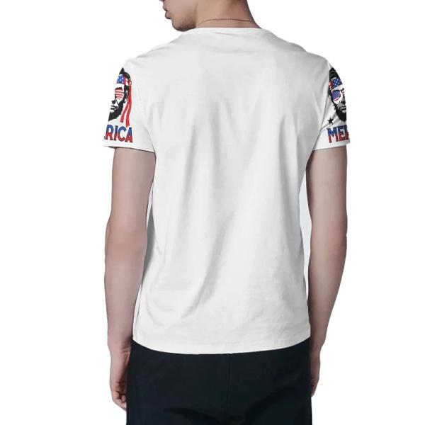 Abraham Lincoln Custom All Surface  Men's T-shirt