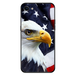 independence Day Custom Toughened Phone Case For Iphone 8