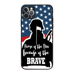 independence Day Custom Liquid Silicone Phone Case For Iphone 11 Pro Max