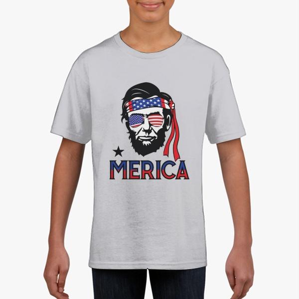 Abraham Lincoln Gildan Children's Round Neck T-shirt